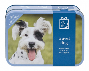 Travel Dog - essentials for dogs on the go - in a tin